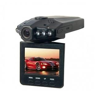 HD DVR Car Video Recorder HD 6 IR LED 2.5 Inch TFT Color LCD - Hitam