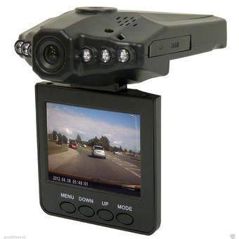 HD DVR Car W-10- 2.5 Inch TFT Color LCD - Black