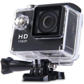 HD LCD HD 1080P Sports Action Camera(Black) (Intl)
