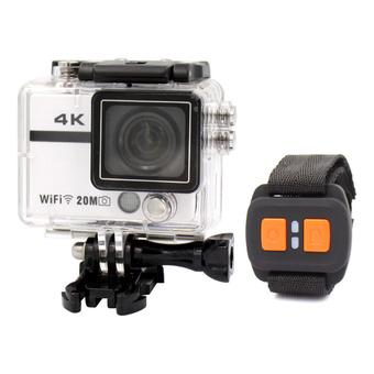 "HD18Plus 2""WIFI Action Cam Ultra HD 4K 20.0MP 1080P 170 Degree Camera Camcorder DVR w/ Remote Control White (Intl)"