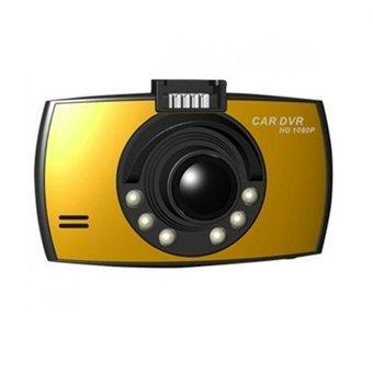 HDMI Car Camcorder 2.7 Inch HD 1080P G-sensor - P602-C - Gold