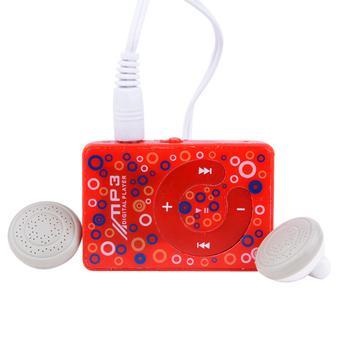HKS 8GB Cyber Mini Clip USB MP3 Music Media Player With Micro TF/SD Card