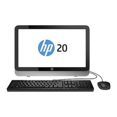 "HP 20-R123L N4S38AA 19.45"" WLED LCD/Intel Pentium G3260T 2.9GHz/2G/500G/DOS All in One PC - Black - 1 Yr Official Warranty Original text"
