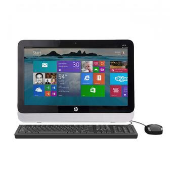 "HP PC All In One 20-r027d - 20"" - Intel Core i5-4460T - RAM 4GB - Hitam"