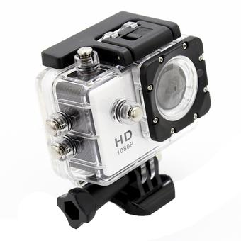 Hd Wifi Wireless Waterproof 1080P 30M Video Camera Camcorder Wide Angle (Intl)