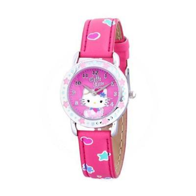 Hello Kitty HKFR1341-01B Pink Jam Tangan Wanita