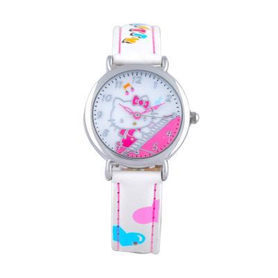 Hello Kitty Kids Watch HKFR1200-02B White Jam Tangan Wanita