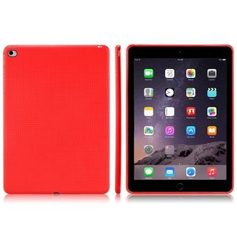 High Quality TPU Rubber Case for iPad 6/iPad Air 2 Red