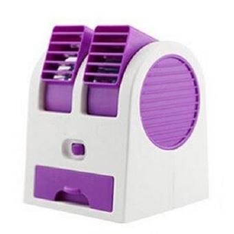 Home-Klik AC Mini Double Blower New - Ungu