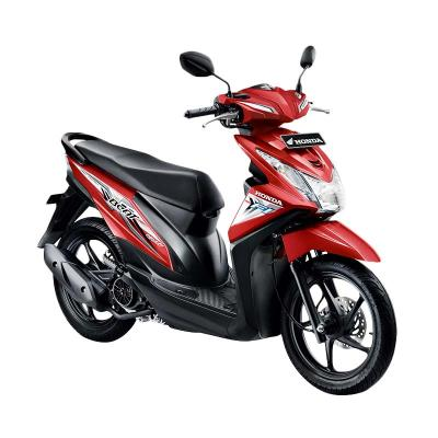 Honda All New Beat eSP CBS FI Sporty Electro Red Sepeda Motor