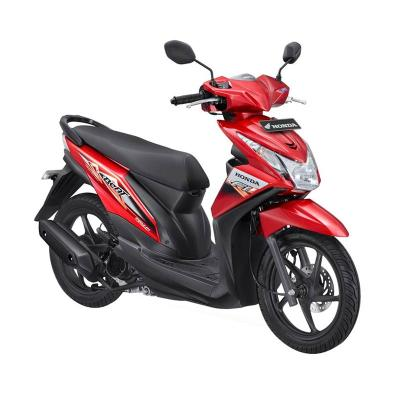 Honda All New Beat eSP CBS ISS FI Sporty Electro Red Sepeda Motor