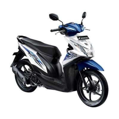 Honda All New Beat eSP CBS ISS FI Sporty Funk White Sepeda Motor