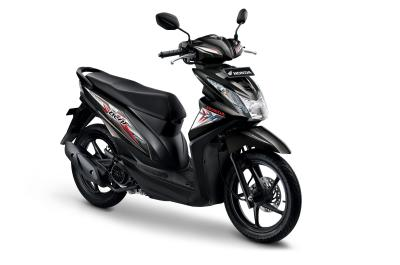 Honda All New Beat eSP CBS ISS FI Sporty Hard Rock Black Sepeda Motor