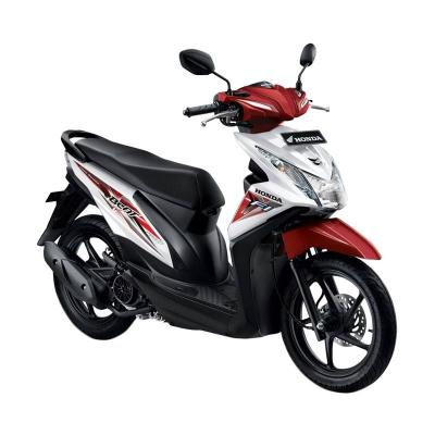 Honda All New Beat eSP CBS ISS FI Sporty Techno White Sepeda Motor