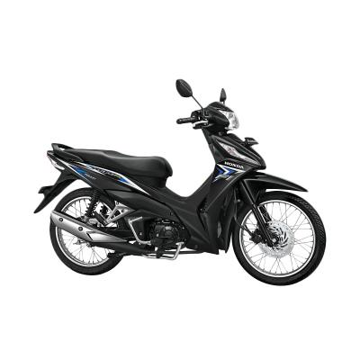 Honda New Revo FI 110 FIT Galaxy Blue Sepeda Motor