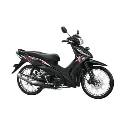 Honda New Revo FI 110 FIT Raving Red Sepeda Motor