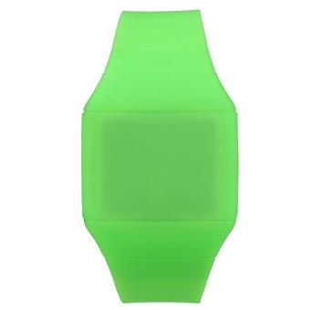 Hot Touch Screen Digital LED Wrist Watch Unisex Silicone Sporty Green