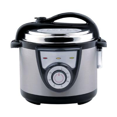Hotor Electric Pressure Silver Rice Cooker