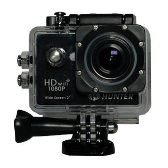 "Hunter Action Camera 12 MP Full HD 1080P H.264 LCD 2"" + Waterproof Case - Hitam - Free Shipping Jabodetabek"