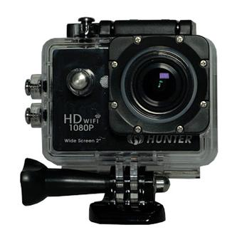 "Hunter Action Camera 12 MP Full HD 1080P H.264 LCD 2"" + Waterproof Case - Hitam"