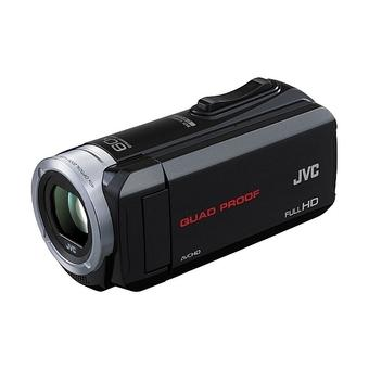 JVC Everio GZ-R10 Quad-Proof HD PAL Camcorder Black
