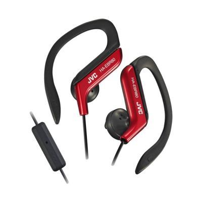 JVC Sport Stereo HA-EBR80 Merah Earphone