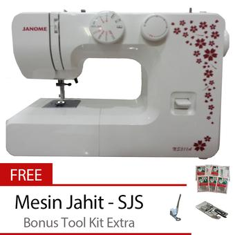Janome NS 311A Mesin Jahit Portable + Free Tool KIT