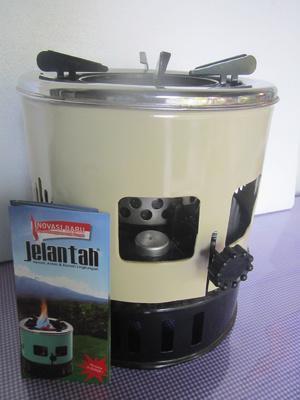 Harga KOMPOR MINYAK JELANTAH Putih Xtra 1 Set Sumbu 1 Lighter