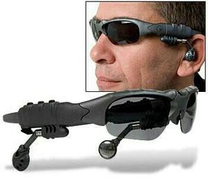 Kacamata Sports Mp3 Bluetooth Stereo Music 100%