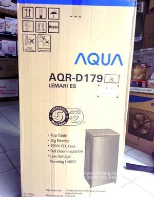 Harga Kulkas Aqua 1 Pintu AQRD179 Lemari Es Haier Asli