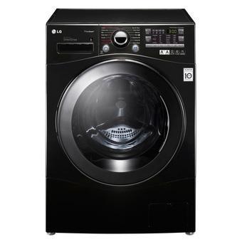 LG WD-P1411D6 - 10Kg - Hitam 100% Kering - Mesin Cuci Front Loanding
