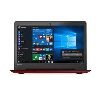 Lenovo IdeaPad 500s-61ID - Intel Core i5-6200 - 4GB RAM - Windows 10 - Merah