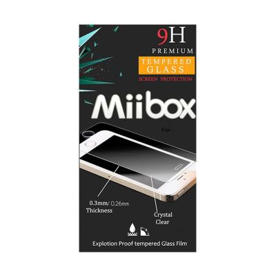 Miibox Tempered Glass Screen Protector for Samsung Galaxy S6