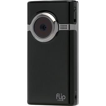 Mito Flip Mino Video Camera - 0.8MP - 2x Optical Zoom - Hitam