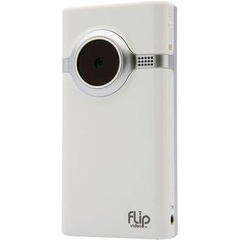 Mito Flip Mino Video Camera - 0.8MP - 2x Optical Zoom - Putih