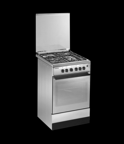 Modena kompor freestanding FC 7641s Silver + oven - Pengiriman khusus JABODETABEK