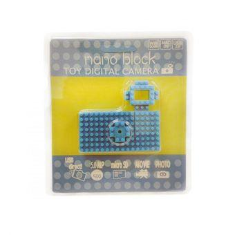 Nanoblock USB Toy Digital Camera - 5MP - Biru