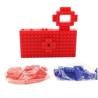 Nanoblock USB Toy Digital Camera - 5MP - Merah