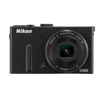 Nikon Coolpix P330 - 12 MP - 5x Optical Zoom - Hitam