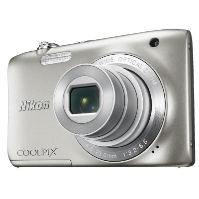 Nikon Coolpix S 2900 - 20.1MP - 5x Optical Zoom - Silver