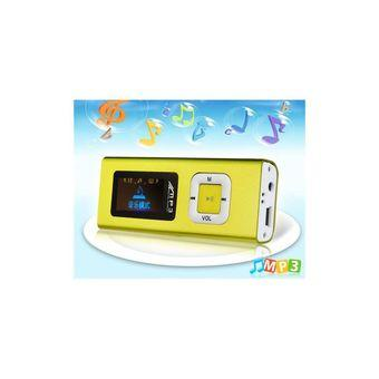 OLED 128x64 Screen MP3 Player with TF Card Reader Yellow
