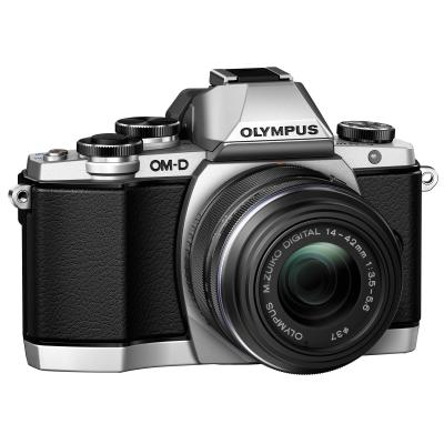 Olympus E-M10 14-42mm EZK - 16.1 MP - Silver