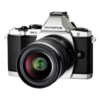Olympus OM-D E-M5 (Silver) with 12-50mm f/3.5-6.3 EZ Lens Kit