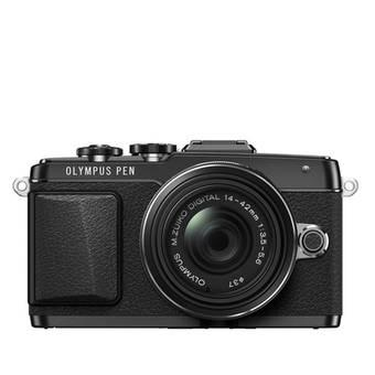 Olympus Pen E-PL7 14-42mm E - 16.1 MP - Hitam
