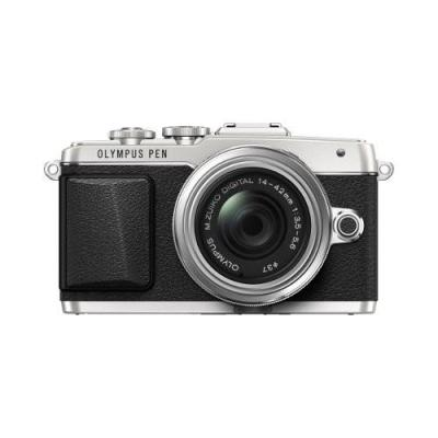 Olympus Pen E-PL7 14-42mm E - 16.1 MP - Silver