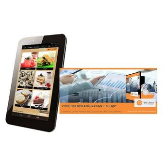 "Omegasoft Voucher eMenu BIZ Cloud 1 bln plus Tablet Smartfren 7"" X10"