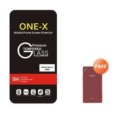 One-X Tempered Glass Screen Protector for Infinix Zero 2 X509 + Free Aircase