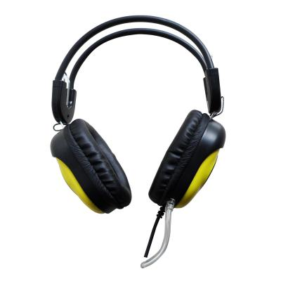 PC Portable Headset Keenion KOS-788 Headphone - Hitam/Kuning