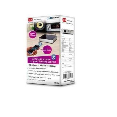 PX Bluetooth Music Receiver BTR-1600-Hitam