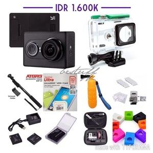 Paket Komplit Xiaomi Yi Camera Black International Version